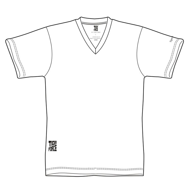 800x800 Tiger Force 2018 Brand Men Fashion T Shirt 100%cotton V Neck