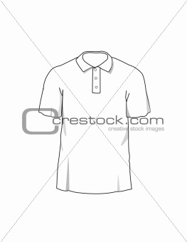 263x340 Image 3961435 Vector Polo T Shirt Template From Crestock Stock Photos