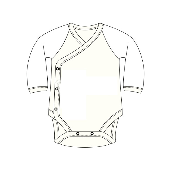 585x585 Onesie Template Free Psd, Pdf Format Download Free