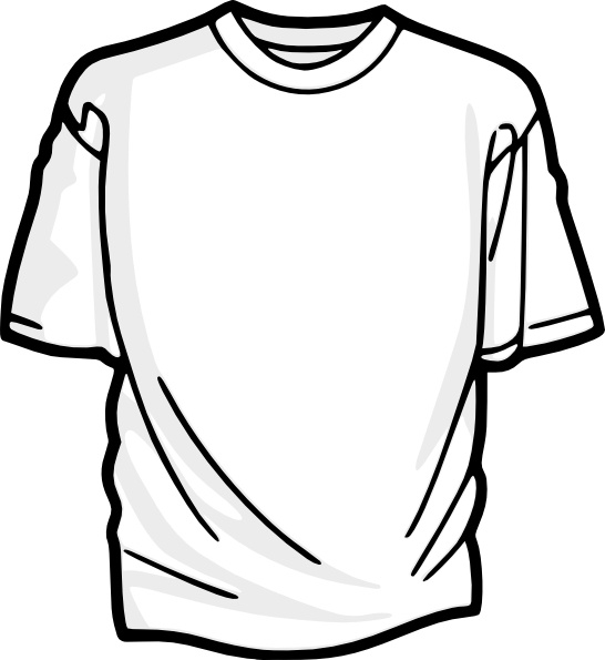 546x595 T Shirt Drawing T Shirt Template Clip Art Free Vector In Open