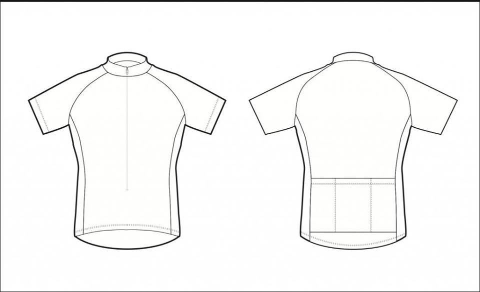 Line Art Jersey : T shirt drawing template at getdrawings free for