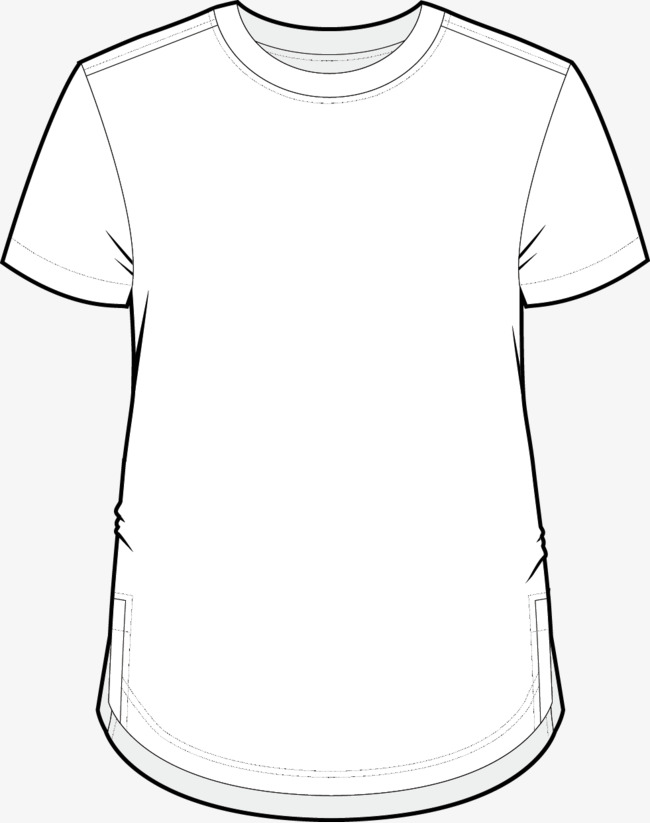 Line Drawing Shirt : T shirt line drawing at getdrawings free for