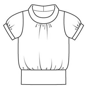 301x310 Sewing T Shirt