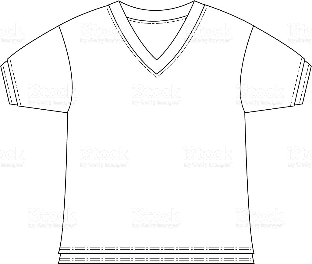 Collar T Shirt Free Vector