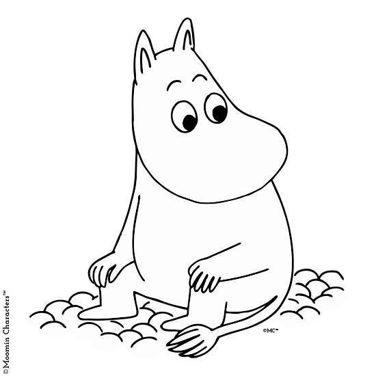 550x550 Moomintroll T Shirt The Official Moomin Shop