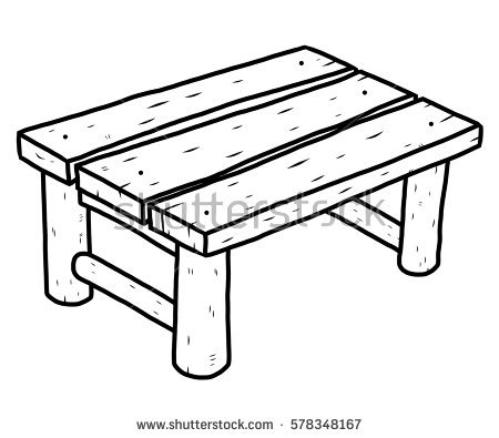 450x395 Drawn Table Cartoon