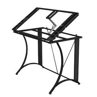 310x310 Glass Light Drafting Table Wayfair
