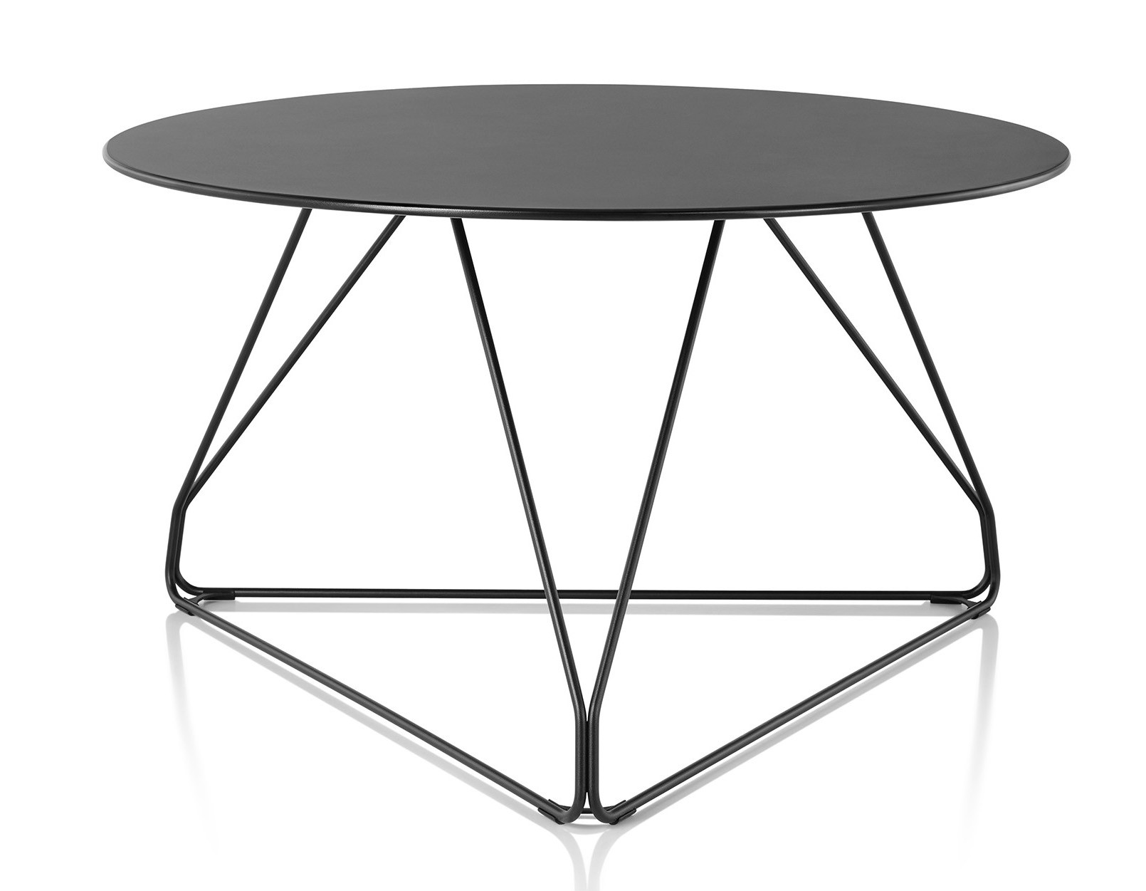 1610x1251 Herman Miller Polygon Wire Table