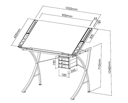 500x403 Artie's Studio Office Drafting Table Art Drawing