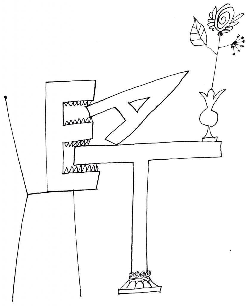 836x1024 Word Object Drawings