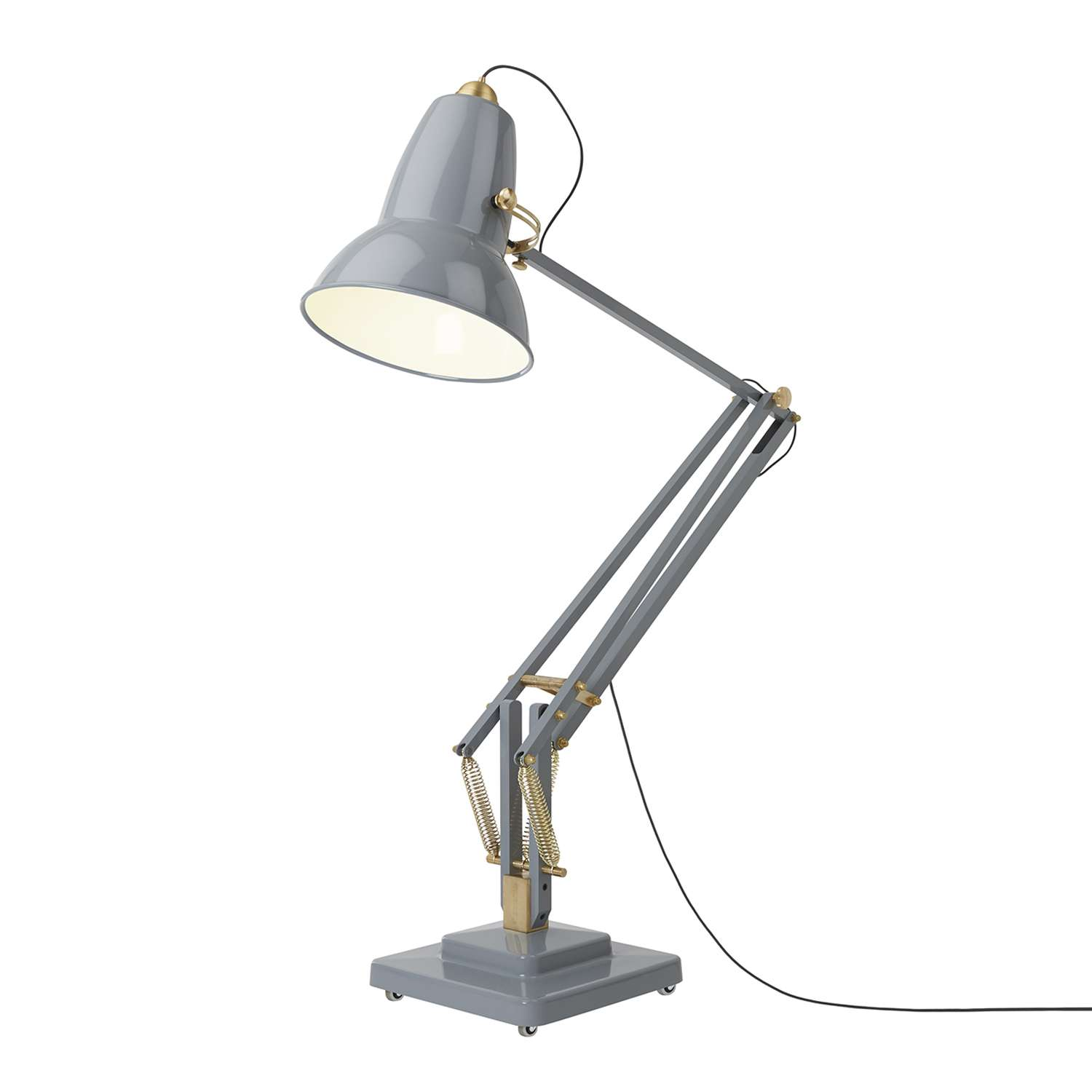 1500x1500 Original 1227 Giant Brass Floor Lamp By Anglepoise Ylighting