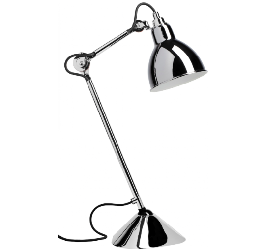 535x513 Table Lamp By Gras 205 Chrome
