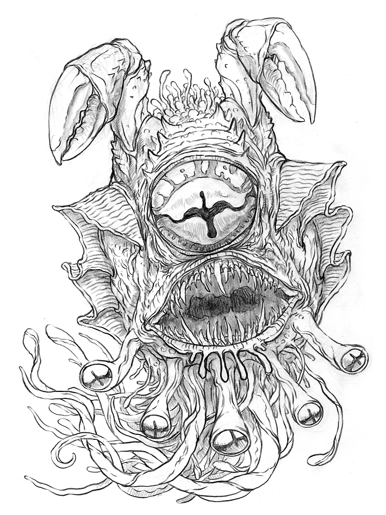 756x1008 The Doodles, Designs, And Art Of Christopher Burdett Fresh