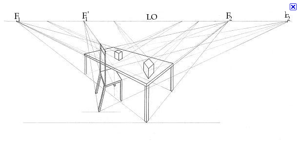 Table Perspective Drawing At Getdrawings Free Download