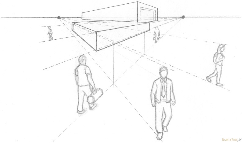 795x468 Lesson 6 Introduction To One And Two Point Perspective Rapidfireart