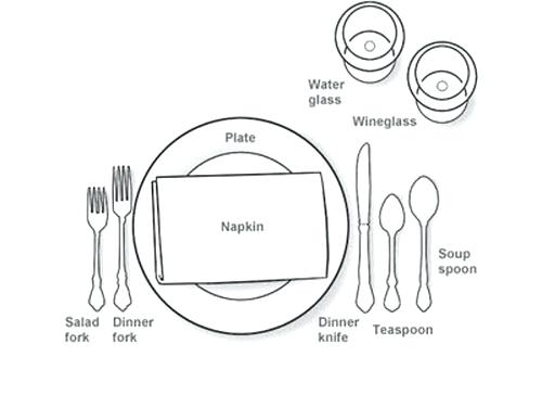 500x364 Dinner Table Setting Etiquette Photo Text Credit Formal Table
