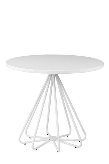 381x572 Round Artificial Marble Restaurant Dining Table For Sale