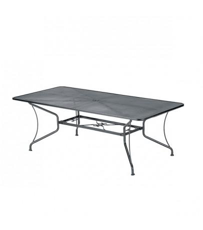 405x460 Woodard 42x60 Rectangular Premium Mesh Top Table