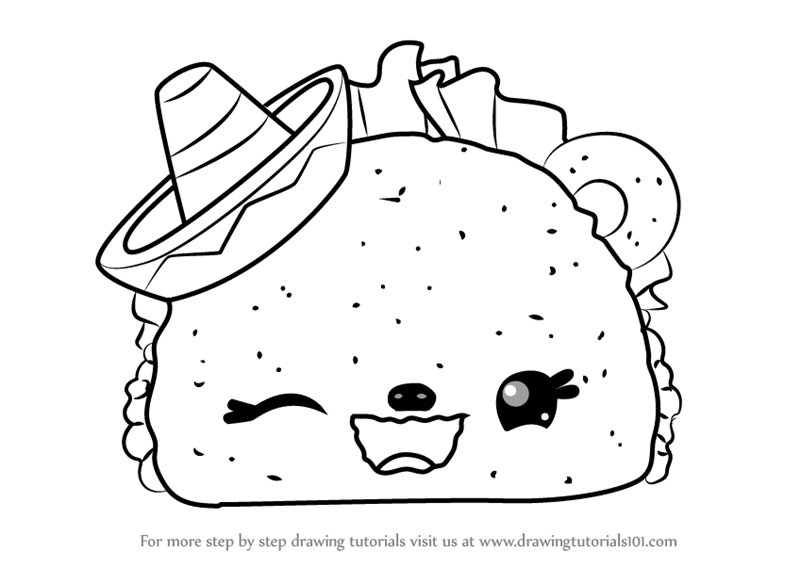 The Best Free Taco Drawing Images Download From 124 Free Drawings