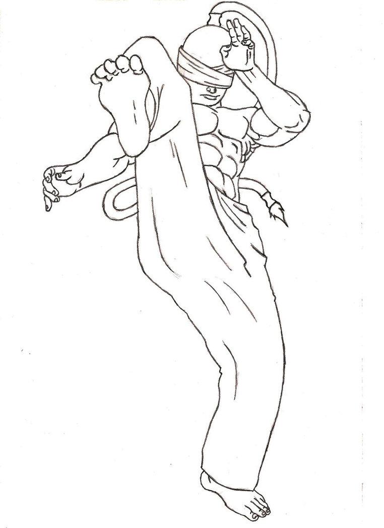 Taekwondo Drawing at GetDrawings.com   Free for personal use ...