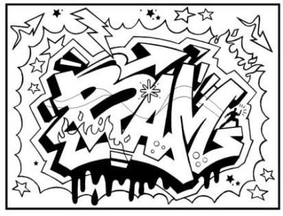 412x314 Learn To Draw A Graffiti Masterpiece