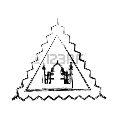450x450 697 Agra Mahal Stock Vector Illustration And Royalty Free Agra