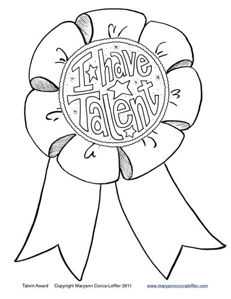 464x600 I Have Talent Worksheet For Kindergarten
