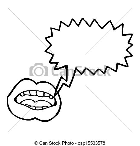 450x470 Talking Mouth Cartoon Character Stock Illustrations