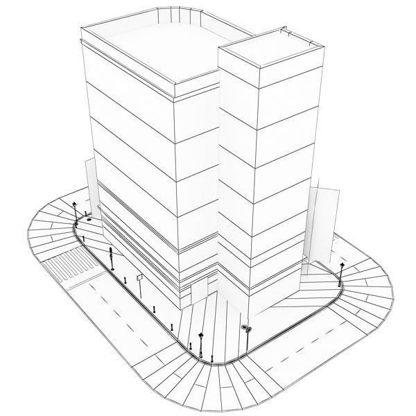600x600 Pictures How To Draw A 3d Building,