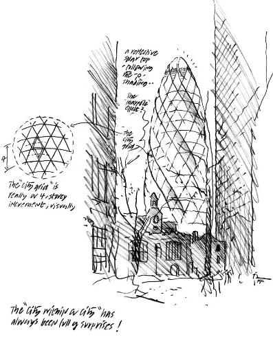 397x493 Norman Foster Sketches