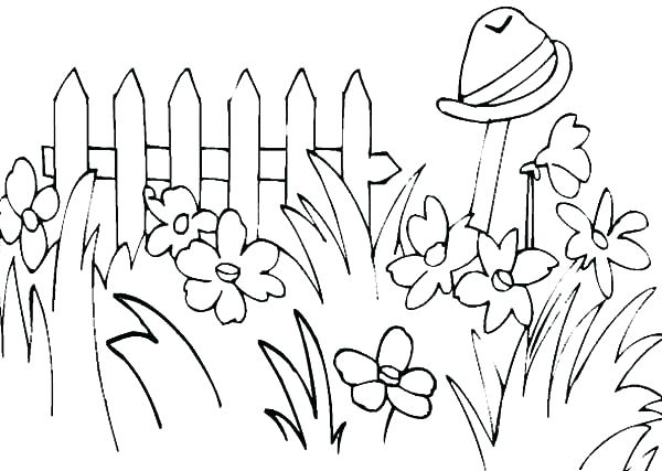 600x427 Grass Coloring Pages 37 In Addition To Grass How To Draw Grass