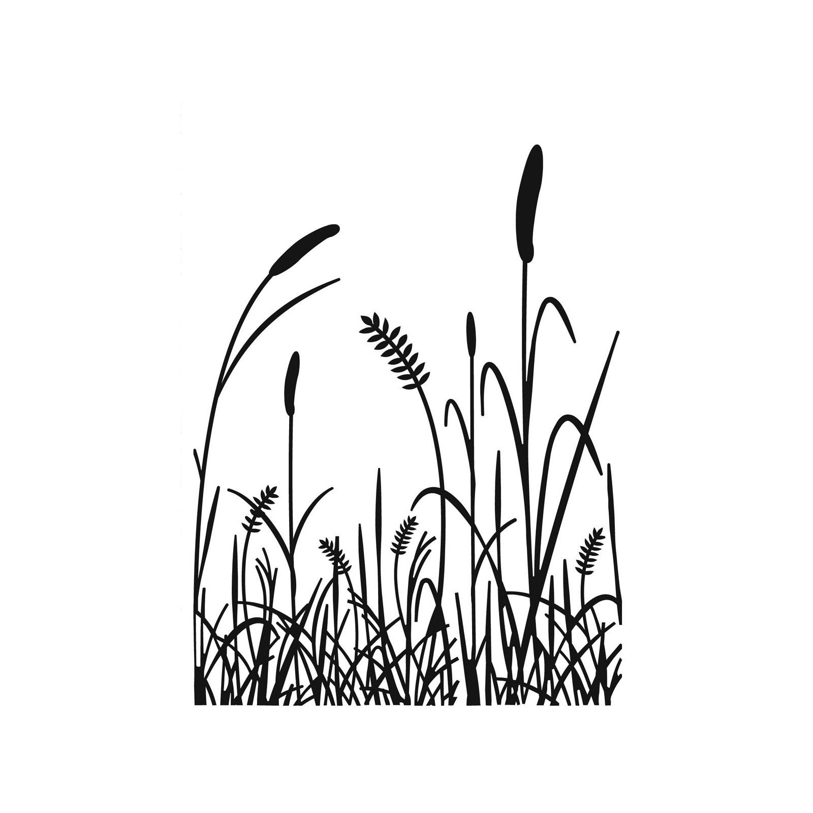 1600x1600 Tall Grass Embossing Folder