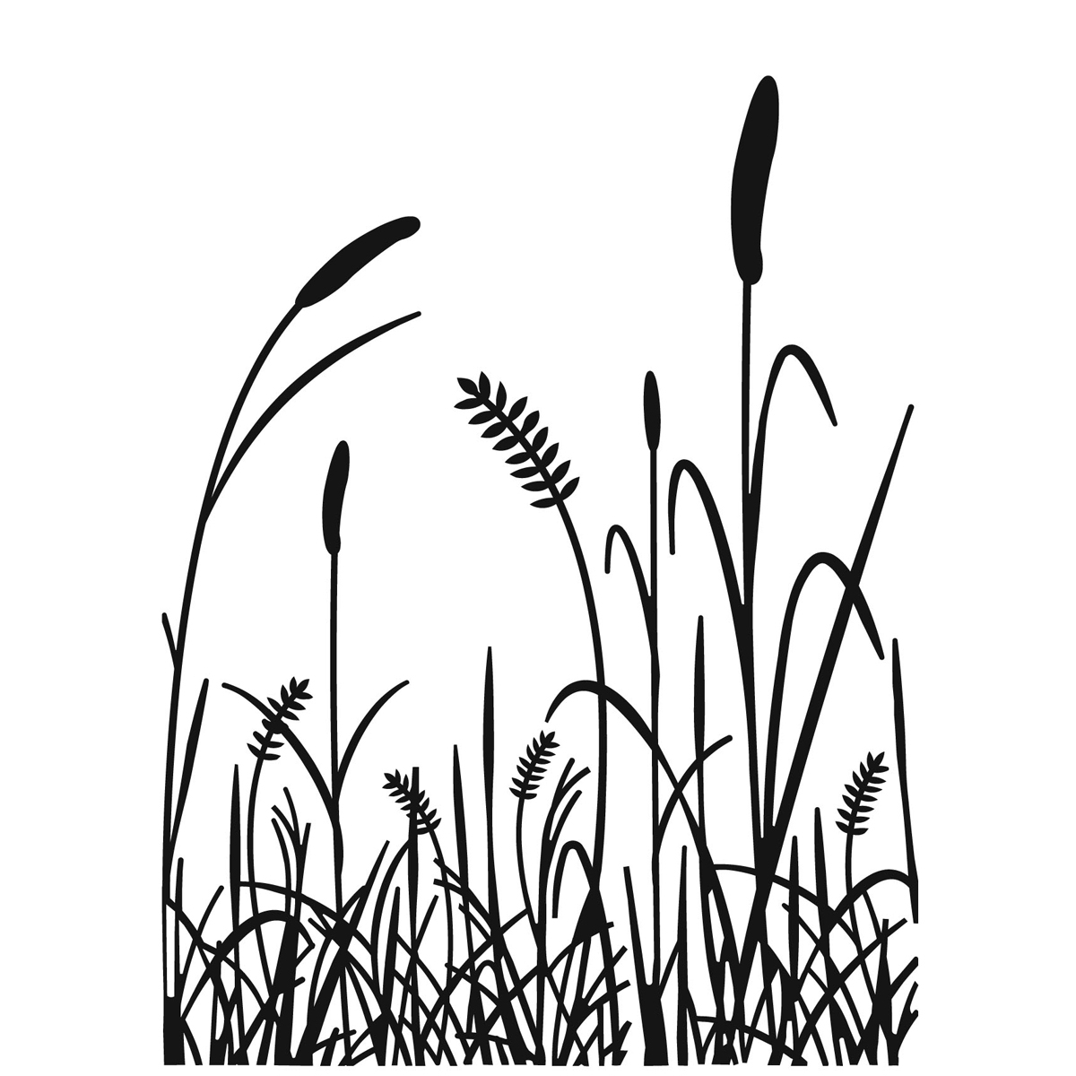 1200x1200 Simple Sketches Of Grass