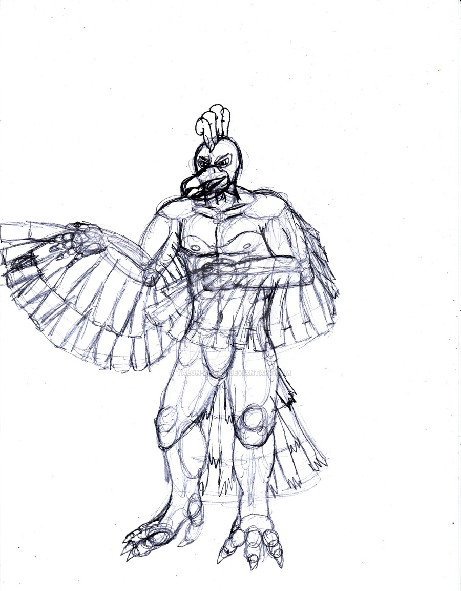 900x1152 How To Draw Anthro Ho Oh