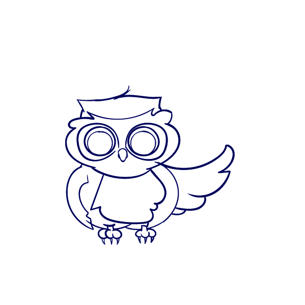 599x599 Learn How To Draw An Owl