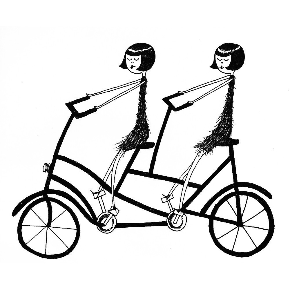 tandem bicycle drawing at getdrawings com free for personal use rh getdrawings com tandem bike clipart wedding tandem bike clipart