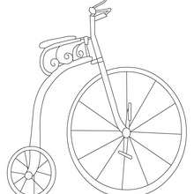220x220 Tandem Bicycle Coloring Pages