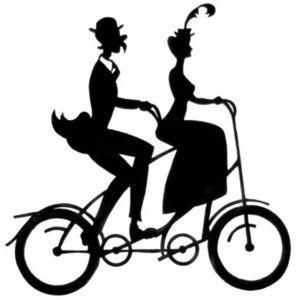 Tandem Bike Drawing