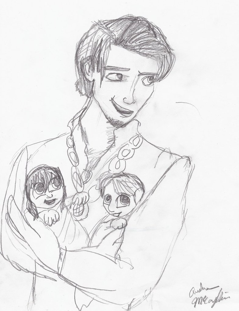 784x1020 Tangled Ff Daddy Eugene By Celticdream1989