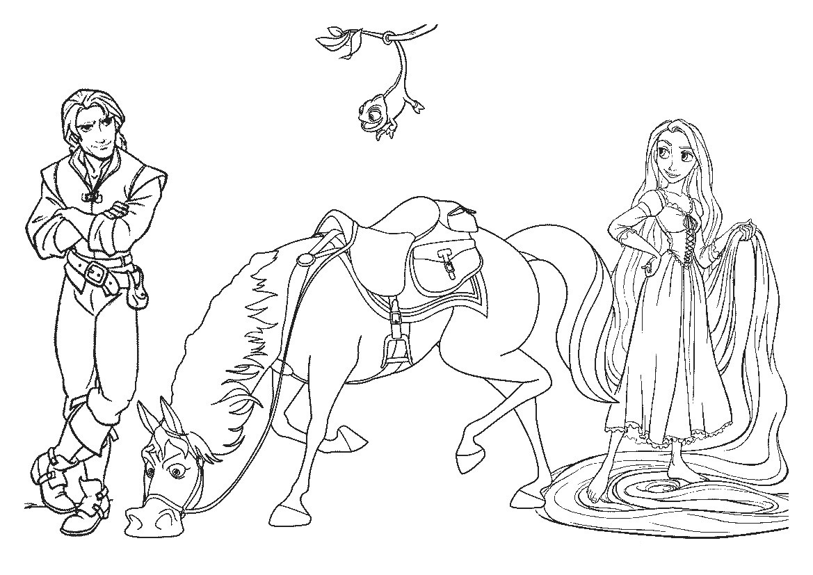 Tangled Drawing Pages at GetDrawings.com | Free for personal use ...