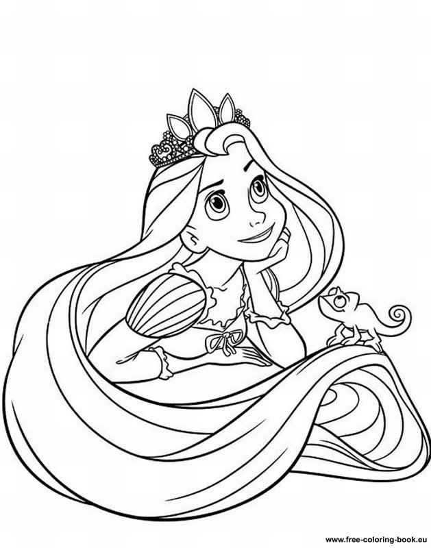 629x800 Disney Printables Coloring Pages Tangled