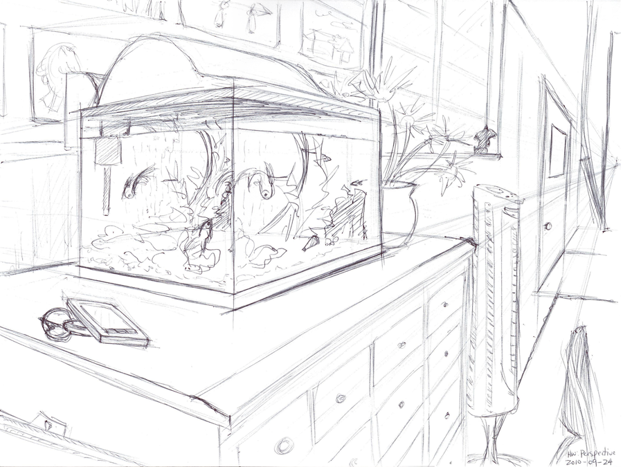 900x675 Fish Tank Perspective By Tynafish