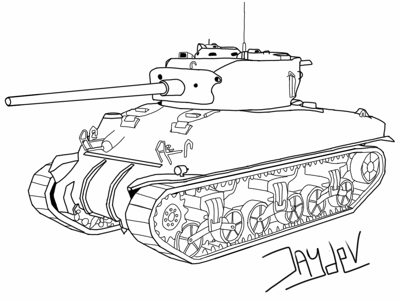 1280x960 Guess This Tank Drawing Part 2