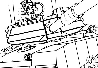 400x277 How To Draw Transport How To Draw A Military Tank