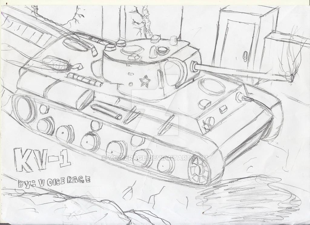 1024x744 Kv 1 Ussr Tank By Voicerage
