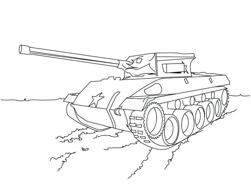 800x619 Printable Army Tank Coloring Pages Truck Kids Pictures