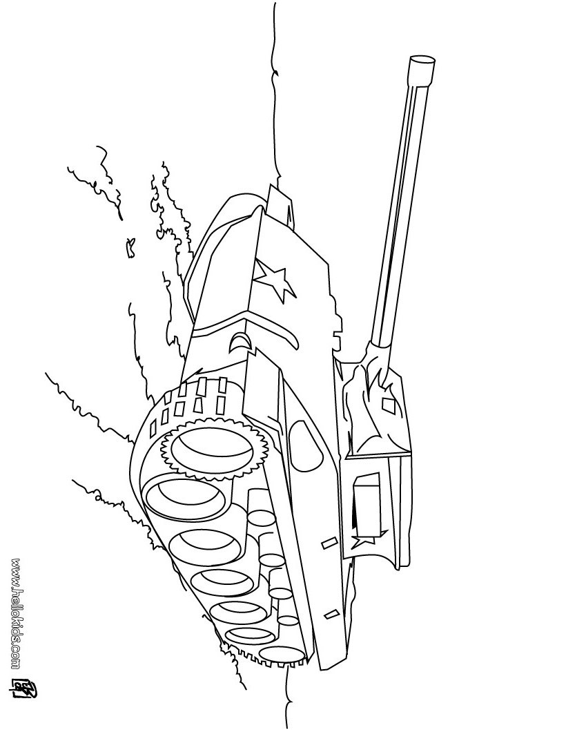 820x1060 Tank Coloring Pages