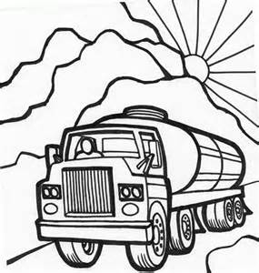 285x300 Tanker Truck Coloring Page Free Printable Truck Activity, Tanker