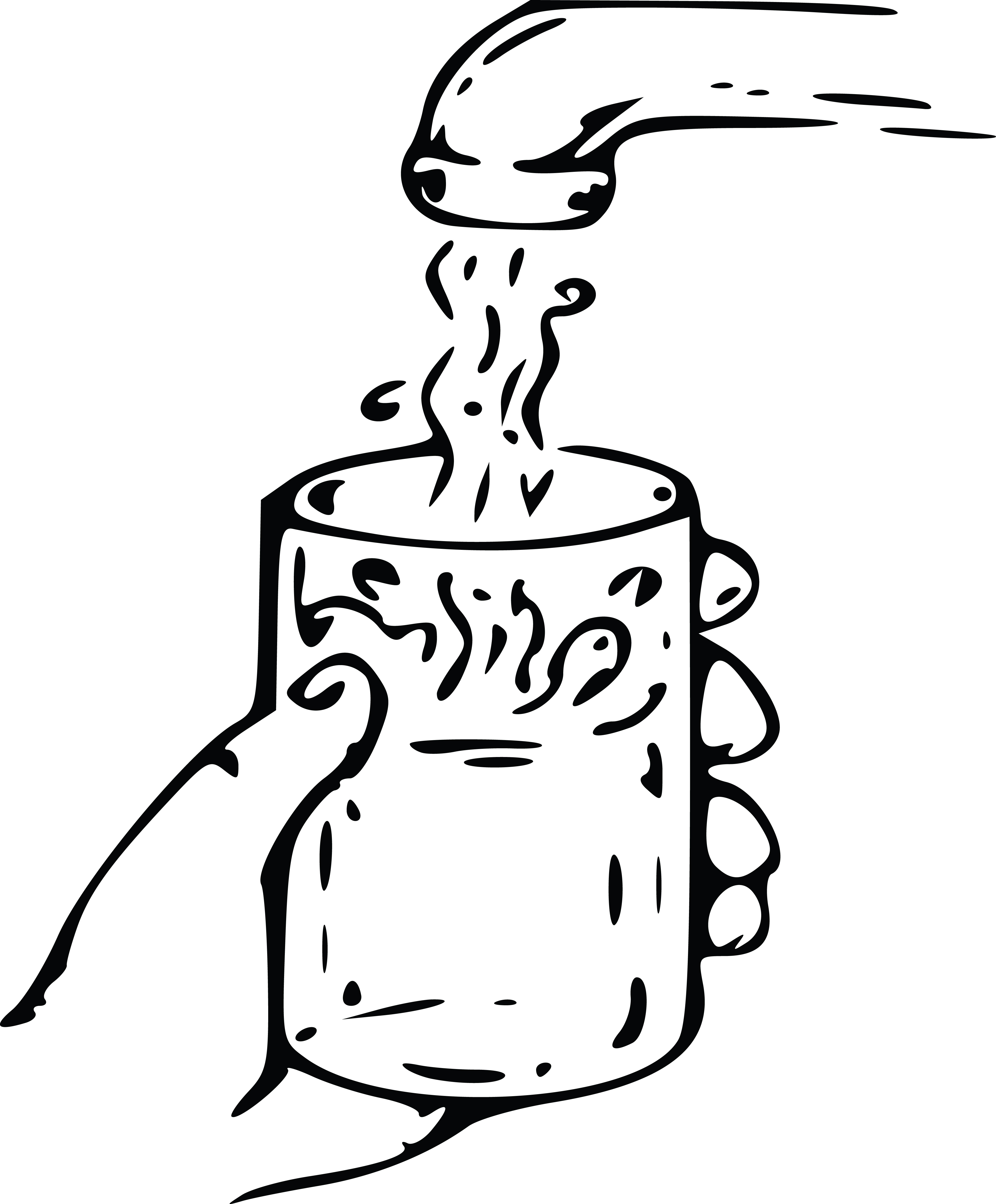 4000x4835 Clipart Of Tap Water