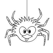 220x220 Dreadful Tarantula Coloring Pages